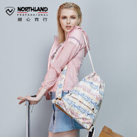 【顺丰包邮 乐享户外】诺诗兰户外男女双肩背多储物袋休闲旅行束口包B990092