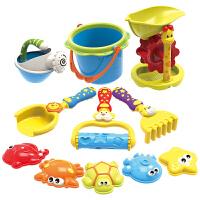 儿童沙滩玩具套装大号 铲子 沙漏 宝宝挖沙戏水玩具洗澡