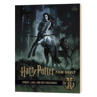 哈利波特电影回顾设定集1 英文原版 Harry Potter The Film Vault Volume 1 全英文版正