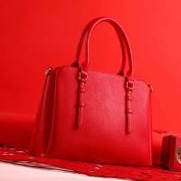 手提包女款手拎包预售款婚包新娘包结婚红色包包女手提包单肩斜挎潮韩版时尚