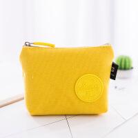 便携迷你零钱包硬币包创意马卡龙零钱包 可爱硬币包布女生布包