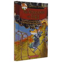 Geronimo Stilton The Volcano Of Fire 老鼠记者幻想王国系列桥梁书 #5 火之火山