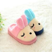 儿童棉拖鞋冬室内宝宝棉拖鞋女童男童幼儿园拖鞋毛毛拖鞋