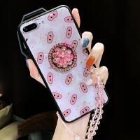 小猪XSMAX苹果X手机壳XR网红同款8P支架iphone8plus新款女7P挂绳7保护套iphon