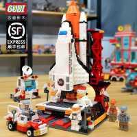 匹配乐高积木男孩子航天飞机火箭立体模型益智力拼装61儿童节礼物