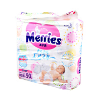 Merries 日本花王纸尿裤NB码 初生儿~5kg 男女通用 (海外购)