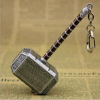 雷神2挂件 摆件 合金挂饰 雷神之锤金属钥匙扣10cm
