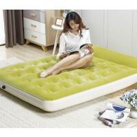 充气床垫单人气垫床家用双人户外帐篷充气床加厚便携午休床 米黄色 仅单床不带泵