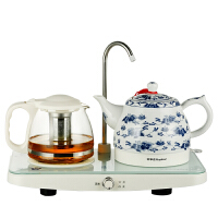 Royalstar/荣事达 TCE10-08B/TCE10-06A自动上水电茶壶陶瓷电热水壶套装