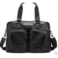 大容量时尚潮流男士包包复古旅行包男包手提包韩版休闲包单肩包斜挎包