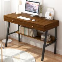 【限时直降3折】电脑台式桌简易家用办公桌简约现代单人书桌小型卧室学生写字桌子
