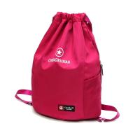 抽绳双肩包女束口袋运动健身包户外短途旅行背包学生书包男潮