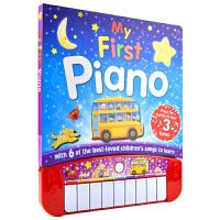 My First Piano 我的本钢琴书 伴奏发声书 经典儿童歌谣 英国出版社 2-6岁 儿童英文原版进口图书