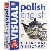 DK波兰语 英语双语图解字典 Polish English Bilingual Visual Dictionary 英文