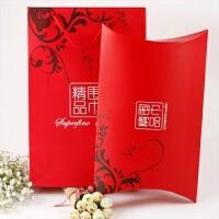 年会活动红围巾刺绣定制平安福大红色仿羊绒礼品围巾印logo中国红