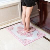 【人气】入户门垫吸水脚垫卫浴浴室防滑垫卫生间门口地垫定制厨房卧室【】