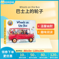 全店�M300�p100】新版 英文原版�L本 Wheels on the Bus巴士上的�子 �板�� Raffi3-6�q低幼