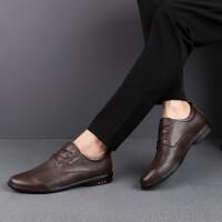 男皮鞋新品新款低帮头层皮休闲皮鞋驾车鞋 潮鞋