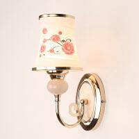 御目 壁灯 现代简约时尚床头灯书房卧室过道客厅现代简约墙壁灯led温馨创意个性灯走廊灯 创意灯具