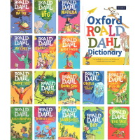 Roald Dahl 英文原版 罗尔德达尔 全套装15册小说章节书与 oxford Roald Dahl Dictionary 牛津配套儿童词