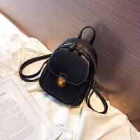 复古双肩包女韩版2018新款潮英伦风pu皮女士小背包时尚休闲旅行包