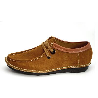 Camel Active/骆驼动感 男士真皮休闲板鞋男鞋