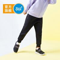 【新春到手价:84.5】361度童装 女童针织长裤2020春秋季新品儿童运动裤女童休闲裤子