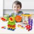 蓓臣 加厚雪花片益智拼插玩具600片套送收纳盒儿童diy玩具