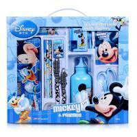 迪士尼Disney米奇米妮婴幼儿童学习文具大礼盒(粉色/蓝色)