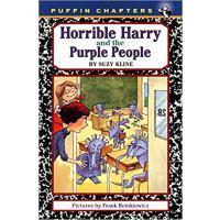 英文原版 可怕的哈利和紫色的人 Horrible Harry and the Purple People