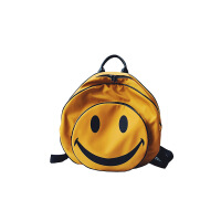 儿童双肩包韩版可爱男女孩圆形笑脸背包小学生书包幼儿园宝宝背包