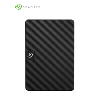 Seagate希捷1T移动硬盘 Expansion 新睿翼1TB 2.5英寸 USB3.0 移动硬盘 速度更快 STEA1000400 黑色