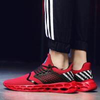 夏季男鞋2019新款男士运动的鞋子跑步鞋休闲百搭潮鞋韩版潮流大码旅游鞋