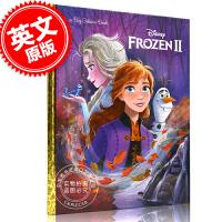 现货 冰雪奇缘2 英文绘本故事书 进口图书 Frozen 2 Big Golden Book 大金书 艾莎 安娜 4-