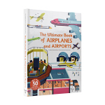 The Ultimate Book of Airplanes and Airports 超大幼儿飞机和机场科普书 互动