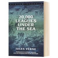 海底两万里 20000 Leagues Under the Sea 英文原版小说 经典文学名著 凡尔纳