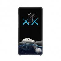 小米9手机壳米8青春版/屏幕版/红米note7pro/6x/mix2splay硬壳9se 小米mix2 KAWS黑色