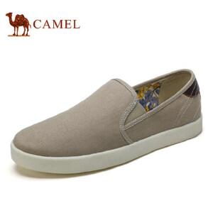 camel骆驼男鞋 新品 帆布鞋简约百搭 舒适日常休闲布鞋