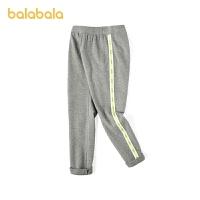 【3件5折价:50】巴拉巴拉儿童打底裤春装女童裤子中大童运动裤荧光色慢跑