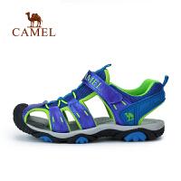 骆驼童鞋儿童青少年户外沙滩鞋男童女童包头运动凉鞋