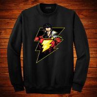 蝙蝠侠卫衣男长袖薄款超人衣服 男士休闲运动T恤上衣