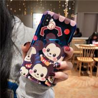Disney/迪士尼iPhonex手机壳Xs Max米妮r苹果6plus硅胶7plus防摔8 6/6s 一群米奇