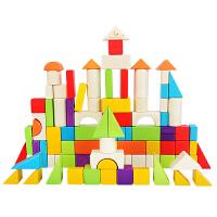 儿童积木玩具1-2周岁益智男孩女孩宝宝幼儿园木头拼装大颗粒