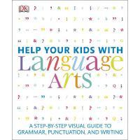 英文原版 帮你的孩子学语言艺术 语法 标点 写作 DK家庭教育系列 Help Your Kids with Langua