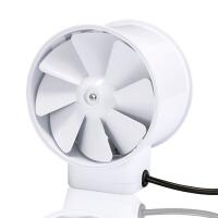 家用厕所圆筒换气扇 圆型管道风机静音100S 4寸小型管道排气扇商用