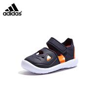 【到手价:199元】阿迪达斯Adidas童鞋2019夏季新儿童凉鞋婴童镂空透气沙滩鞋(0-4岁可选)F34806