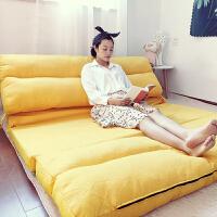 甜梦莱懒人沙发榻榻米可折叠网红沙发床单双人两用阳台卧室小户型多功能