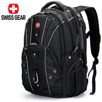 SWISSGEAR瑞士军刀旅行包15.6/17.3英寸防泼水游戏笔记本电脑包 大容量多功能双肩包旅行袋行李包SA-98