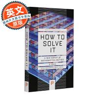 怎样解题 英文原版 How to Solve It 数学思维的新方法 A New Aspect of Mathemat