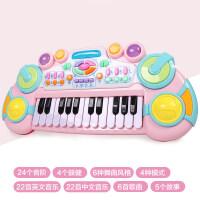 儿童电子琴 宝宝多功能钢琴玩具2小女孩初学1-3岁4带话筒6音乐